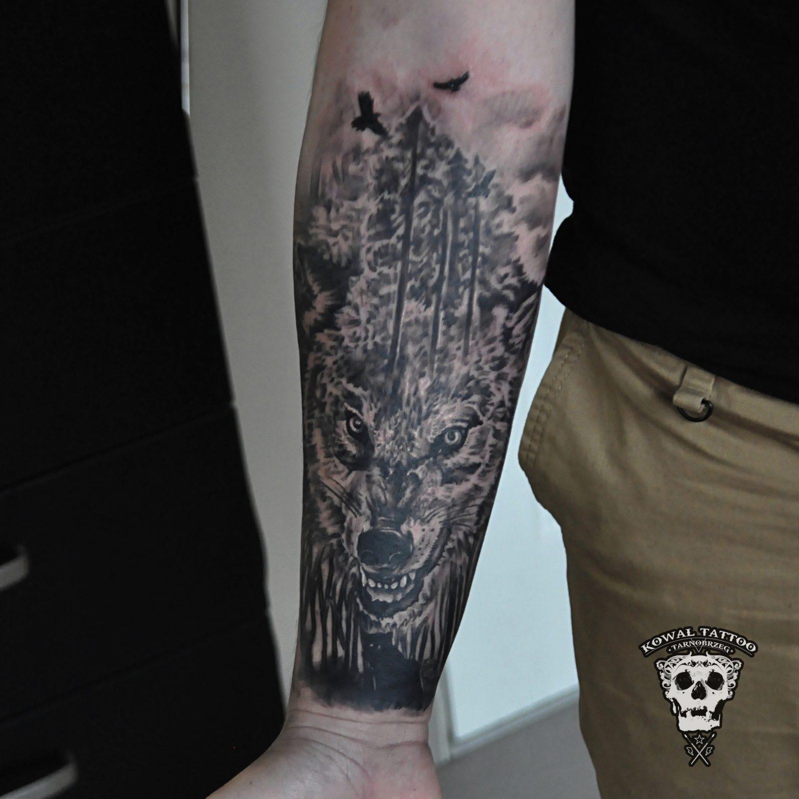 kowal-tattoo-tarnobrzeg-wolf2