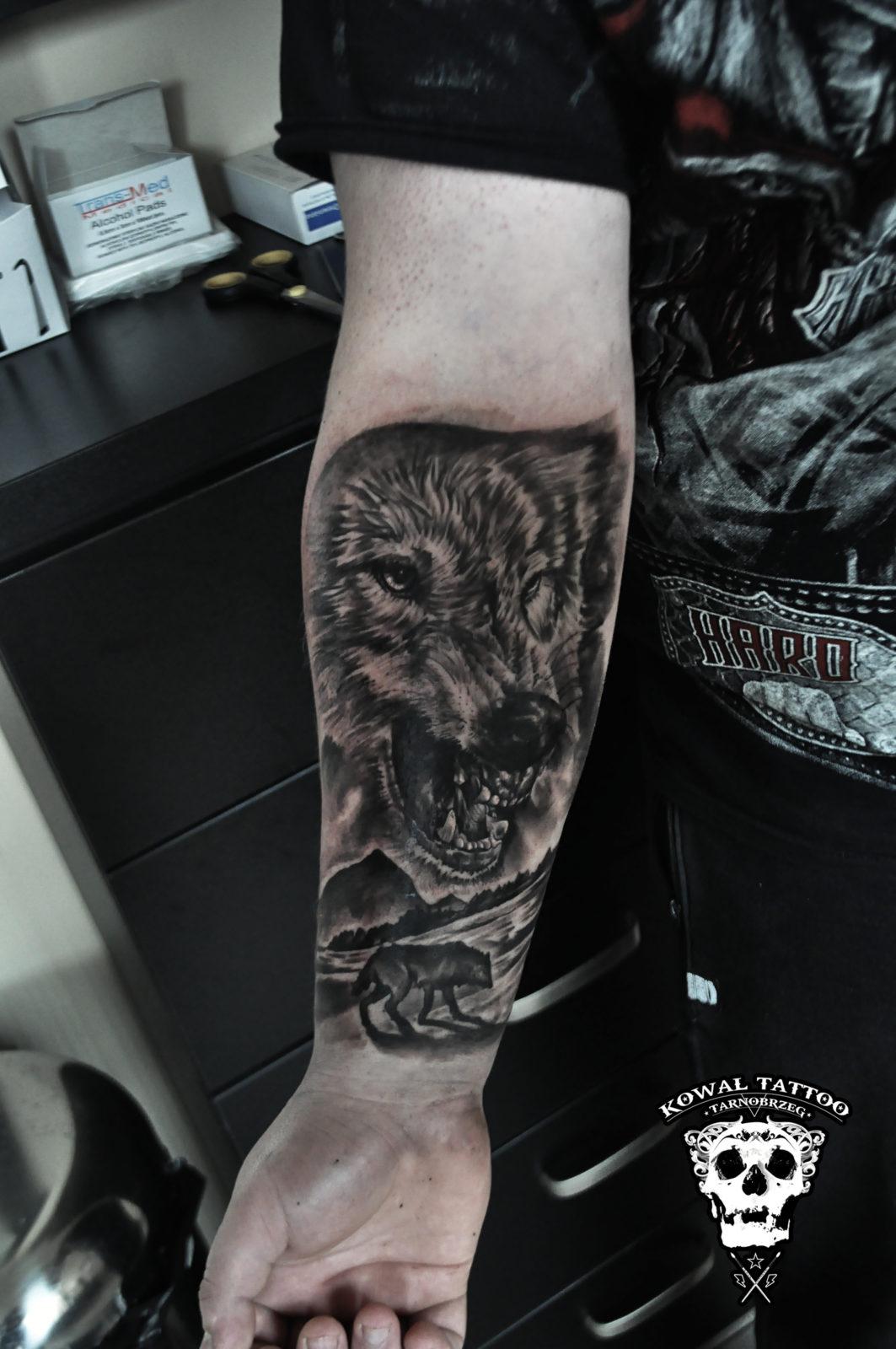 wolf-tattoo-kowal-tarnobrzeg